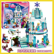 Friends Princess Aisha Frozen snow castle Building Toys 297pcs fit lego 10435