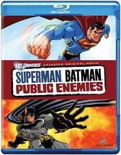 Superman/Batman: Public Enemies (2011, REGION A Blu-ray New) BLU-RAY/WS