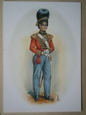 POSTCARD 49TH HEREFORDSHIRE REGIMENT C1826 OFFICE GRENADIER COMPANY