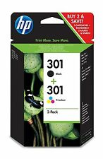 HP 301 Black & Colour INK CARTRIDGES Original Twin Pack For HP 1050 2050 1050a