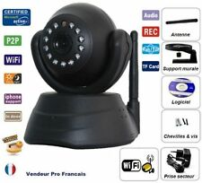 Camera Sans Fil Wireless WiFi IP IR Vision Nocturne Audio Webcam Jw003