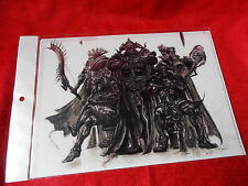 NEW! FINAL FANTASY Xll Judgemaster / A4 Size FILE FOLDER / UK DESPATCH
