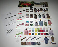 NORO WORLD of NATURE knitting yarn poster #12 with instructions for 12 Designs