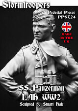 Stormtroopers WW2 WSS Panzerman Bust Unpainted kit 1/9th