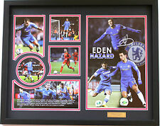 New Eden Hazard Signed Chelsea Limited Edition Memorabilia
