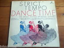 "THE ERNEST WILSON BALLROOM ENSEMBLE - STRICT TEMPO DANCE TIME 12"" LP - SOC 950"