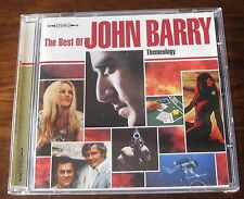 John Barry - Themeology - The Best Of John Barry - Mint 1997 Picture Cd Album