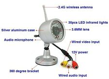 New 2.4G wireless infrared night vision camera for wired and wireless camera