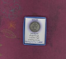 Watching Over KAYLEE Guardian Angel Keepsake Medallion by GANZ
