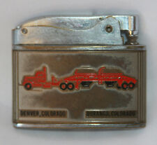 Vintage Kay-Cee Lighter Semi Truck Trucking Specialists Durango Denver Colorado