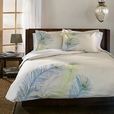 Superior Peacock 3-piece Duvet Cover Set