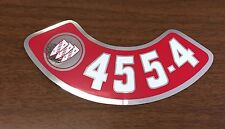 68 69 70 71 72 73 74 BUICK 455-4V AIR CLEANER DECAL New