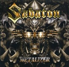 Metalizer (Re-Armed) - Sabaton (2011, CD NIEUW)2 DISC SET