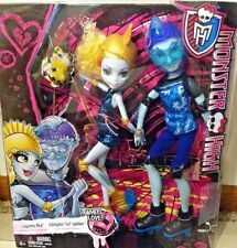 "MONSTER HIGH 2 PACK WHEEL LOVE LAGOONA BLUE & GILLINGTON ""GIL"" WEBBER DOLLS"
