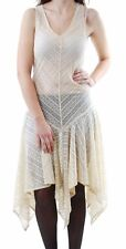 Para mujer íntimamente Lila Free People maxi sin mangas NUDE Talla XS BCF511