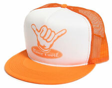 RETRO TRUCKER CAP [HANG LOOSE] 80´S SURF SURFER OLDSCHOOL SNAPBACK HAT KAPPE  Re