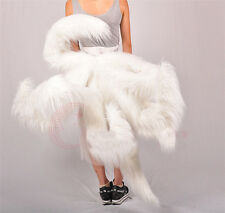 The Nine Tails Fox League of Legends Cosplay Tails  LOL Ahri 9 White Tail HQ