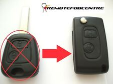 2 button flip case upgrade for Peugeot 307 remote key