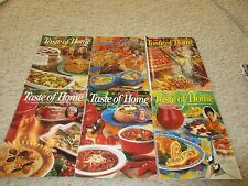 Taste Of Home Magazines - Lot Of 6 Back Issues 2001