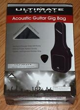 Guitar Gig Bag Ultimate Acoustic Soft Carry Case Black Parts Gibson Pick New CS