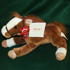 "WellsFargo ""Mack"" Legendary Plush Pony 2012 Stage Coach 160 Years Ribbon 18"" NWT"