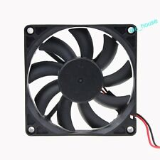 5V 2Pin 80mm x 80mm x 15mm 80x15mm Brushless DC Computer Case Cooling Fan 8cm
