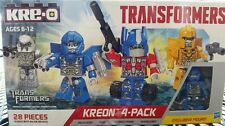 TRANSFORMERS UNIVERSAL STUDIOS KRE-O KREON EXCLUSIVE EVAC FIGURE 28 PC 4 FIGURES