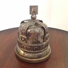 KING GEORGE V1 CORONATION CROWN SILVER PLATED  MONEY BOX