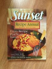 Sunset Recipe Annual 2002 Edition Every Recipe From Past Year's Issues Cook Book