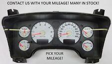 04-05 Dodge Ram 1500 GAS Instrument Gauge Cluster Speedometer Tach *PICK MILEAGE