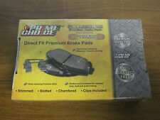 Prime Choice Auto Parts SCD340A Ceramic Disc Brake Pad, Rear