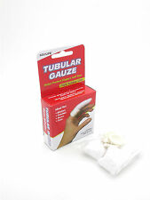 ACU-LIFE TUBULAR GAUZE+FREE RUBBER COTS X 4 - PROTECT FINGERS & TOES - FAST POST