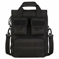 DYJ Military MOLLE Tactical Field Laptop Briefcase Gear Messenger Shoulder Bag &