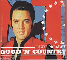 ELVIS PRESLEY - GOOD 'N' COUNTRY - NEW STUDIO CD DIGIPAK SEALED