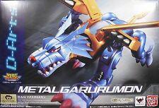 New Bandai D-Arts Digimon Metal Garurumon PVC Figure PAINTED
