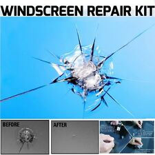 2X Windscreen Windshield Repair Kit Crack DIY Auto Glass Wind Screen Chip Cracks