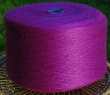 Knitting Machine Yarn or Hand Knit 3ply 2/12s 1.5 Kilos Acrylic Purple IND20.01