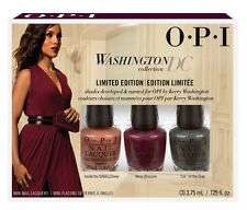 Opi Mini Nail Lacquer Set ~ WASHINGTON DC LIMITED EDITION 3x3.75ML  ~