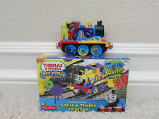 BRAND NEW SEALED THOMAS AND FRIENDS TAKE N PLAY SPILLLS & THRILLS THOMAS