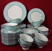 CASTLETON china CORSAGE pattern 60-piece SET SERVICE for 12 - factory 2nds