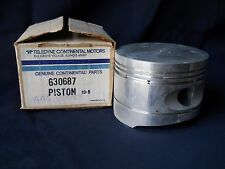 """One (1) NEW TCM Continental 630687 Piston Superseded: 654861 - 4.44"""" diameter"""