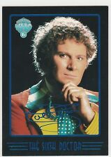 1996 Doctor Who Series Four Foil Doctors #i6 The Sixth Doctor * Colin Baker *