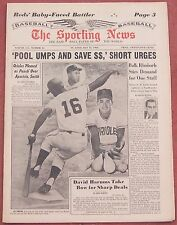 5-11-63 SPORTING NEWS BALTIMORE ORIOLES LUIS APARICIO ON COVER BASEBALL