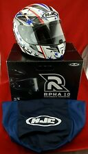 HJC RPS-10 Patriot Full Face Motorcycle Helmet ** Large *  IN BOX TOP OF LINE