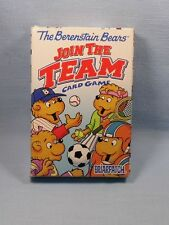 Berenstain Bears Join the Team Card Game 2000