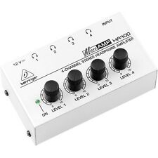 BEHRINGER HA400 STEREO HEADPHONE AMPLIFIER MICROAMP Japan F/S