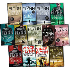 Vince Flynn Mitch Rapp 13 Books Collection Pack Set NEW