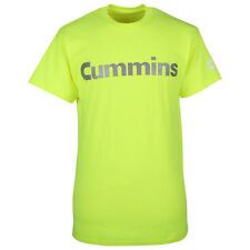 Cummins dodge diesel t shirt top safety green short sleeve reflective tee gear