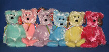 TY SHERBET the BEAR BEANIE BABY - MINT with MINT TAGS - CHOOSE YOUR COLOR!!!