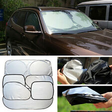 Car Window Visor Sun Shade Windshield Cover Block Full Shield UV Protection +Bag